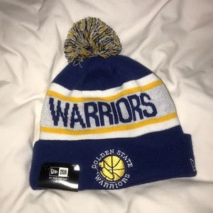 Golden State Warriors Pom Beanie